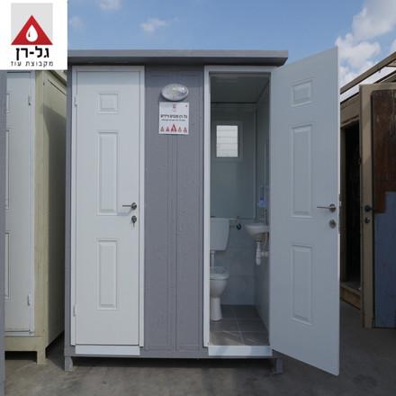מבנה זוג תאי שירותים פנל מבודד - חזית.JP