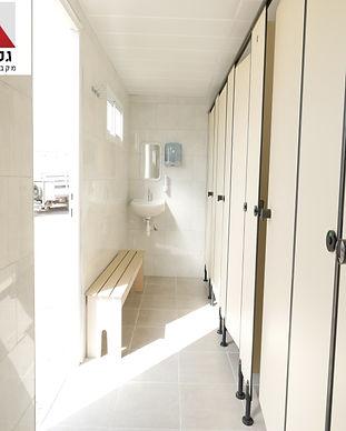 מכולת 6 תאי מקלחת טרספות כולל מבואה - חל
