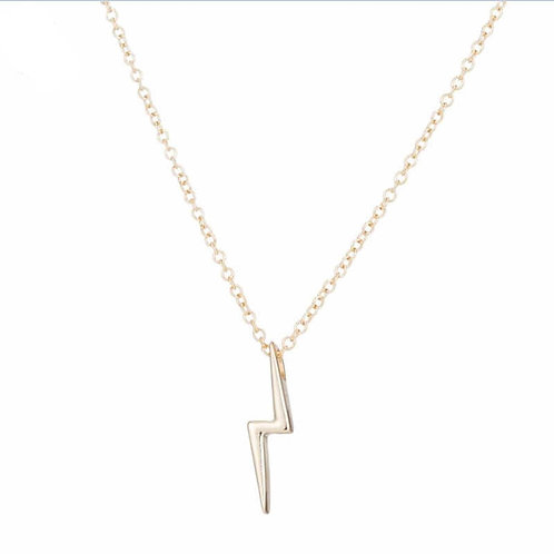 Harry Lightening Scar Necklace Gold