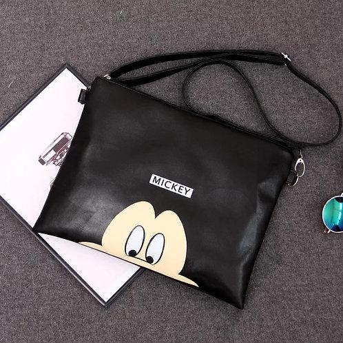 Mickey Mouse Lined Handbag/Clutch