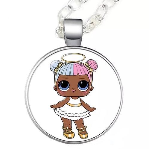 LOL Angel Cartoon Character Cobochan Necklace