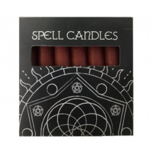 Red Spell Candles - Pack of 6