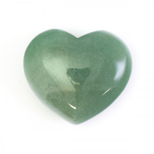 Green Aventurine Crystal Heart (medium)