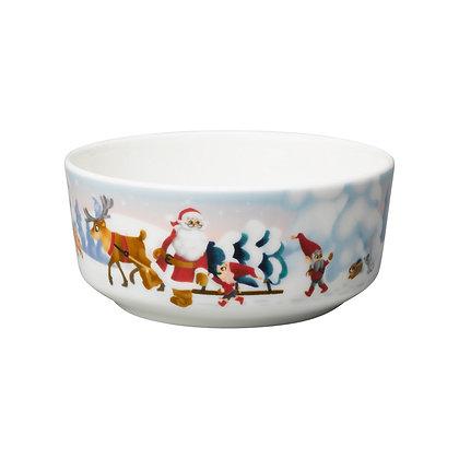 Santa Claus bowl Yhdessä 15 cm