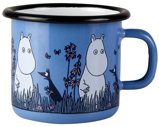 Moomin Enamel Mug Friends Moomintroll 0.25 L