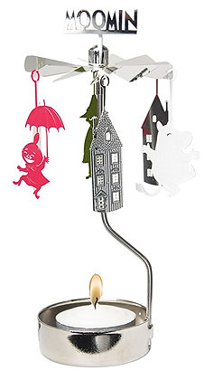 Rotating Moomin candle holder