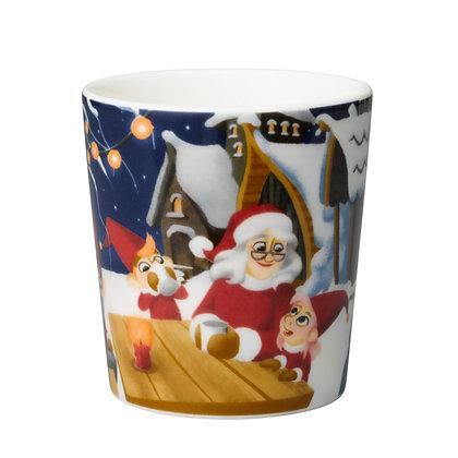 Santa Claus cup Iltainen kylä 0,3 l