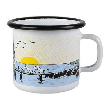 Moomin Mellow Wind Enamel Mug 1,5 dl