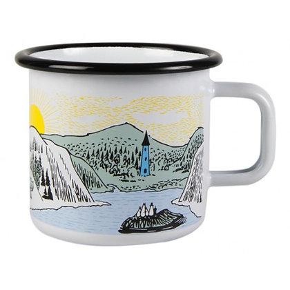 Moomin Mellow Wind Enamel Mug 3,7 dl