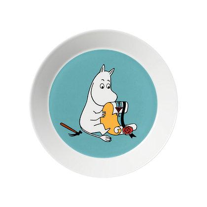 Muumit plate Muumipeikko 19 cm