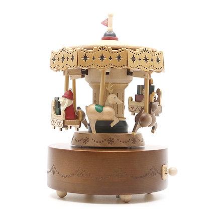 Santa's Sleigh Carousel