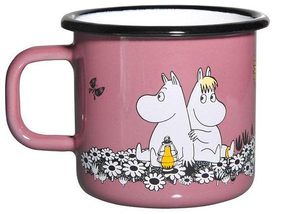 Muurla Moomin - Together forever Enamel Mug 3,7dl