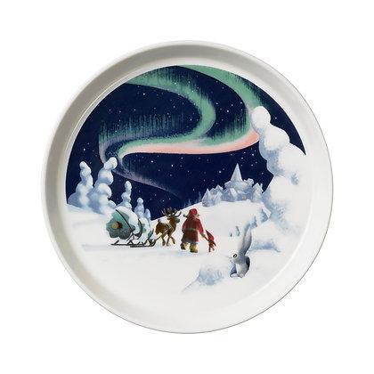 Santa Claus plate Revontulet 19 cm