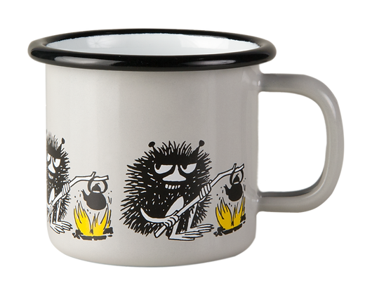 Muurla Moomin - Stinky friends Enamel Mug 1,5dl