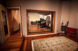 Inside Studio E's iso booth.