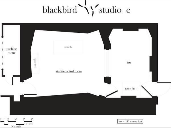 Blackbird Studio E Floor Plan
