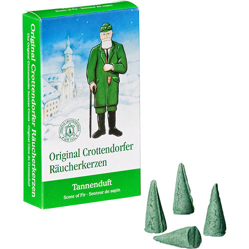 Original Crottendorfer Incense Cone - Scent of Fir - Size M
