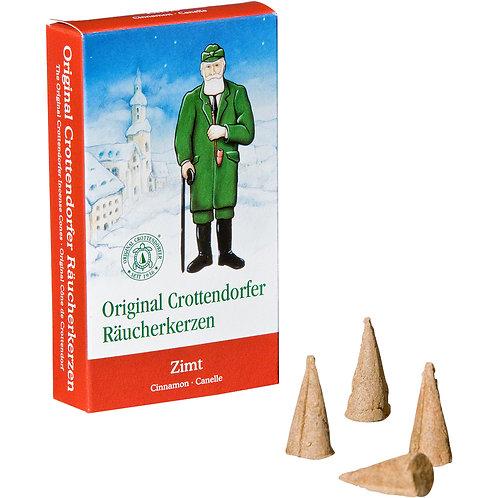 Original Crottendorfer Incense Cone - Cinnamon - Size M