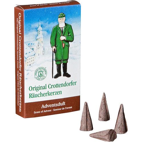 Original Crottendorfer Incense Cone - Scent of Advent - Size M