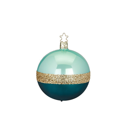 Twin, Mint Green Pearl 6cm Bauble - Handcrafted Inge Manufaktur