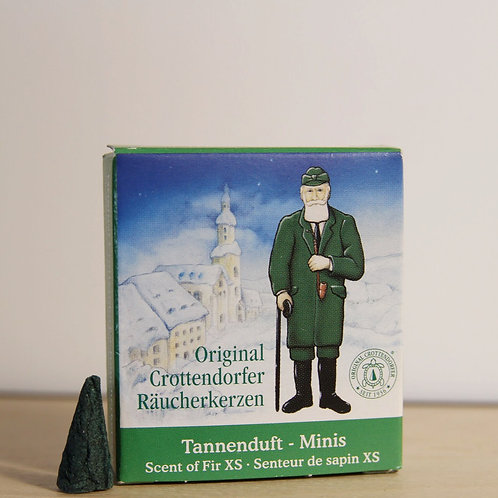 Original Crottendorfer Mini Incense Cone - Scent of Fir