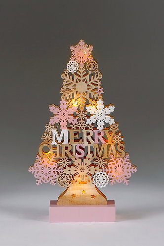 Pink LED Tree - Small