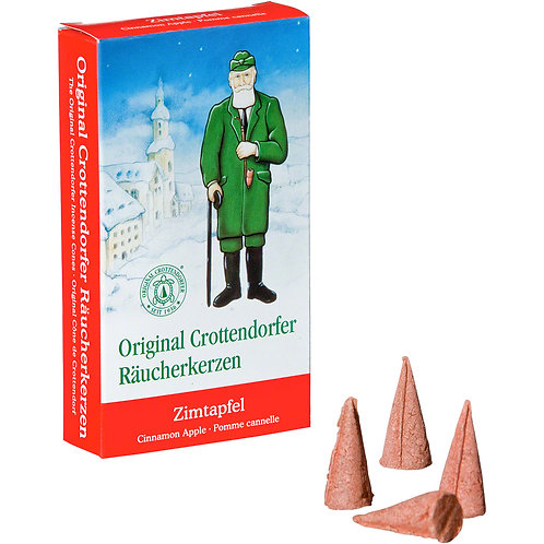 Original Crottendorfer Incense Cone - Apple Cinnamon - Size M