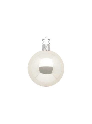 Champagne Pearl 6cm Bauble - Handcrafted Inge Manufaktur