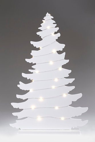 Wooden Tree with LED Lights - Large