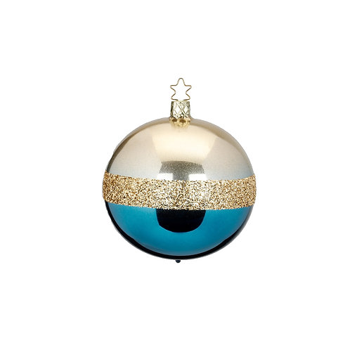 6cm Inge Manufaktur Baubles set of 3