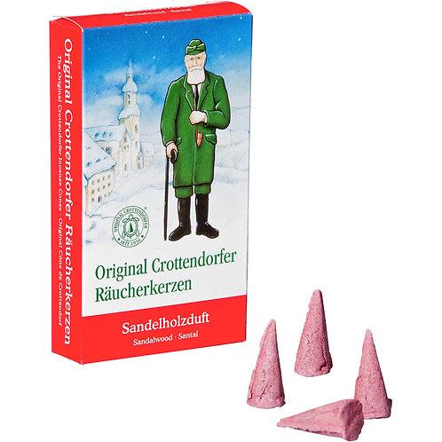 Original Crottendorfer Incense Cone - Sandalwood - Size M