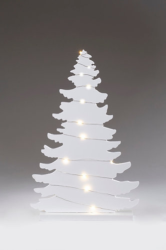 Wooden Tree with LED Lights - Small