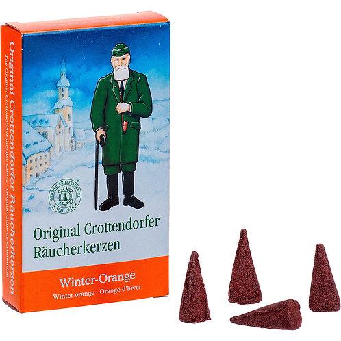 Original Crottendorfer Incense Cone - Winter Orange - Size M