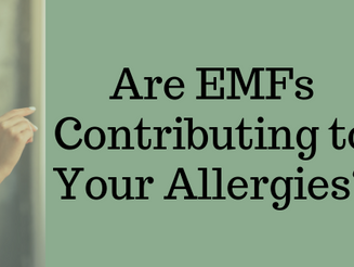 A case of EMFs preventing food sensitivities from improving.
