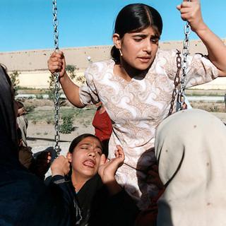 AFGHANISTAN - Women on a swing