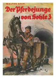 """Walter Dach (1900-1956) arbeitete zunächst als Bergmann in Braunkohlegruben. Nach einer Ausbildung zum Steiger wechselte Dach seinen Beruf zum freien Schriftsteller und publizierte das viel gelesene Buch """"Der Pferdejunge von Sohle 3"""". Hier leben Kameradschaften und Katastrophen unter Tage auf. Der Bestseller erschien sogar in einer niederländischen Übersetzung. Slg. LWL-Insustriemuseum"""