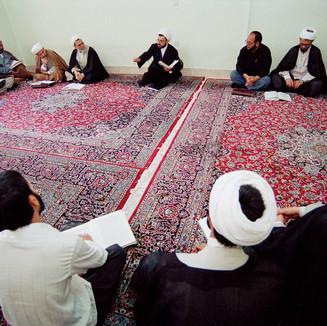 ISFAHAN - Mullahs at a conference