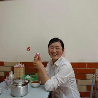 BEIJING - Mongolian guest in a restaurant