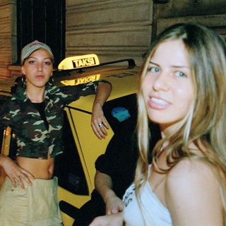 ISTANBUL - Girls at a taxi stand