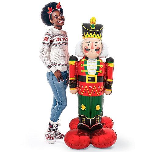 Nutcracker Christmas Balloon Sculpture