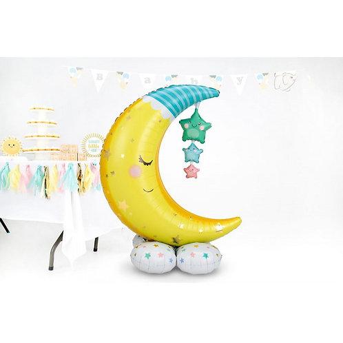 Moon Twinkle Twinkle  Baby Balloon Sculpture