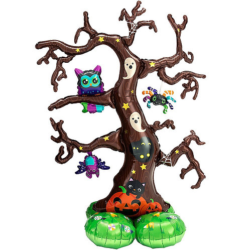 Halloween Tree Balloon Sculpture