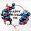 Thumbnail: Balloon Hoop - Custom Glitter Text