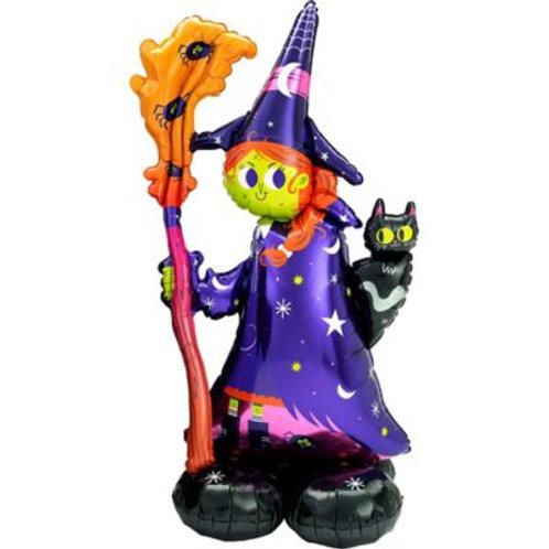 Witch Halloween Balloon Sculpture