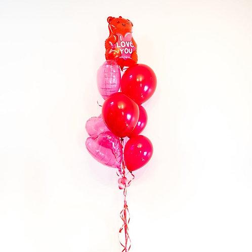 Gummy Bae Valentines Helium Balloon Bouquet