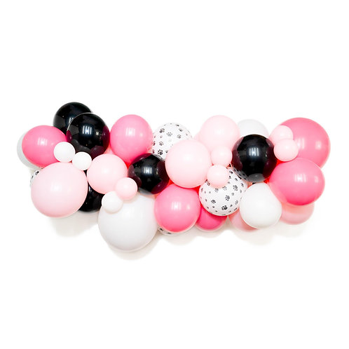 Puppy Pawty Balloon Garland (Ready to Hang)