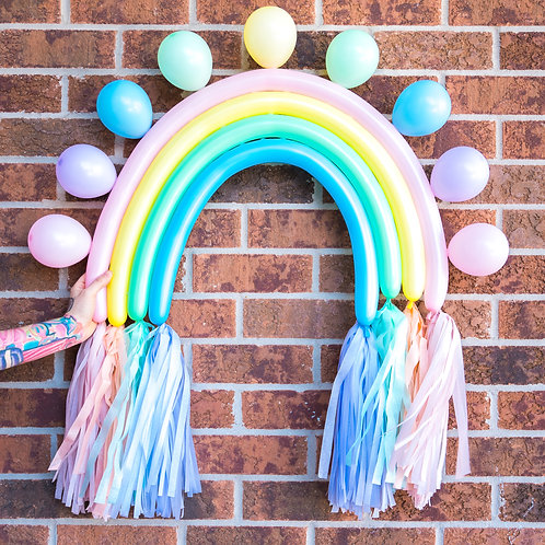 Pastel Balloon Rainbow
