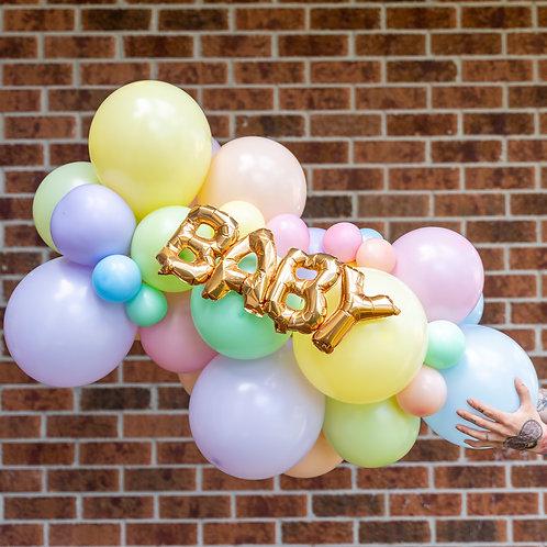 Name Balloon Garland (Ready to Hang)