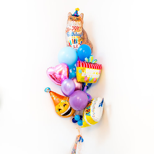 Bangin'  Balloon Bouquet - Giant Helium Occasion Bouquets!