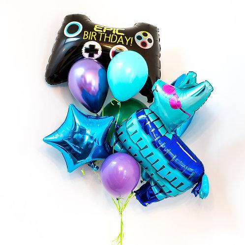 Gamer Helium Balloon Bouquet